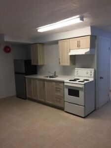 New Basement Bachelor Apartment at Eglinton and Laird