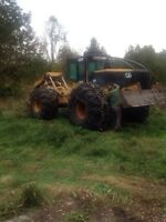 Tree cutting and skidding service