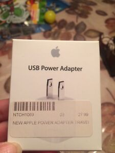 Apple usb power adopter (new)