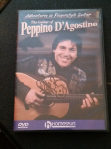 Finger picking DVD by  guitar master Peppino D'AGOSTINO