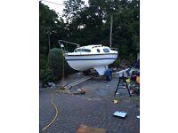 18ft boat ! BARGIN