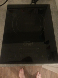 Master chef induction cooktop