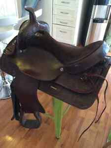 Selle Western Rawhide 16 po - 525$ West Island Greater Montréal image 3