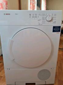 Bosch tumble dryer condenser 6kg capacity white 60cm