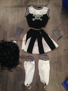 Skeleton Cheerleader Costume for a Kid/Tween