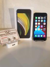 MINT! Apple iPhone SE 2020 64GB Black + Apple Warranty