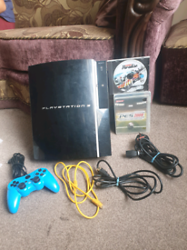 PS3 Sony Official Console🔥Controller🔥Games 🎮🔥all Cables included