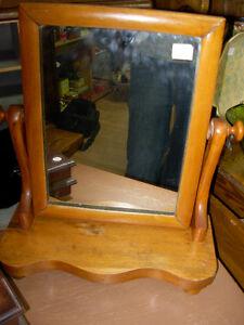 Early Gents Shaving Mirror