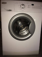 Stackable Apartment Size HE Whirlpool Washer/Dryer Set