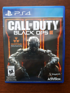 Jeux PS4 Call of Duty Black Ops 3 Playstation 4 game