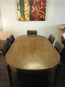 7 piece Dining set, Good used condition