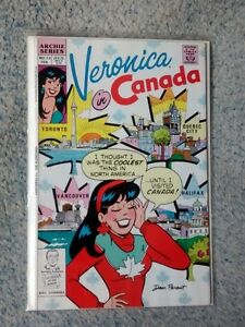 Veronica in Canada comic books