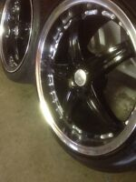 """^^** LIKE NEW 18"""" RIMS 5x120 WITH LIKE NEW RUBBER!!"""