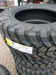 NEW LT35X12.5R20 AMP ATTACK MT WINTER RATED TIRES