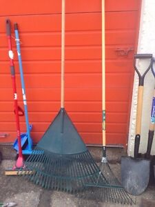Garden tools for sale with free stuff