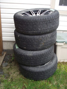 Truck Tires on rims