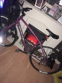 Whyte hybrid bike very cheap