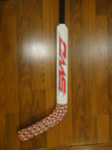 "Sherwood 25"" goalie stick shoots left"