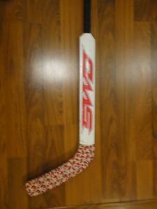"Sherwood 25"" goalie stick shoots left"