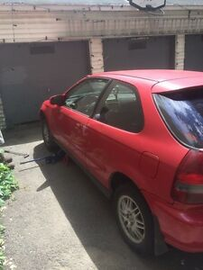 2000 Honda Civic hatchback for trade or for sale