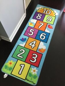 Melissa Doug Hop And Count Hopscotch Rug