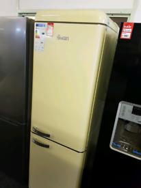 Brand New SWAN SR11020CN 70/30 Fridge Freezer - Cream RRP £600