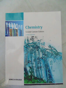 Seneca College Chem 173&273 Textbook