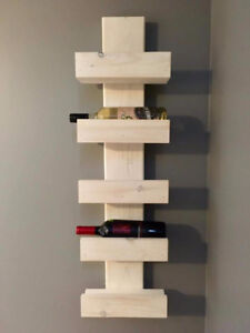 5-Tier wooden wine racks