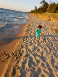 vacation log home, grand bend July23-26 Special