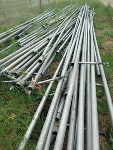 Hay sprinkler aluminum pipes and heads