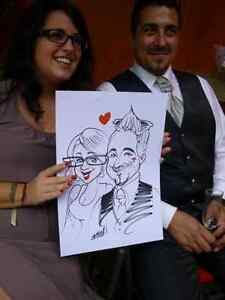 the wedding caricature  West Island Greater Montréal image 8