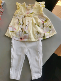 Ted Baker set 6-9 mth immaculate