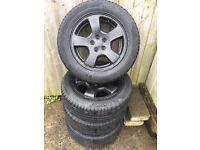 "Subaru 16"" wheels 5x100"