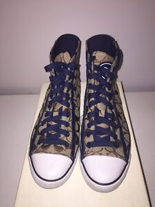 Coach sneakers size 8.5