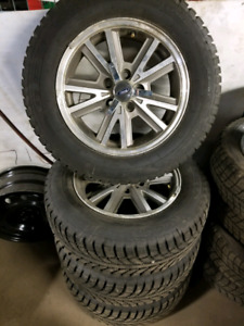 """16"""" Tire & Rim Package Ford 5x4.5"""
