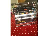 DVD collection for sale.