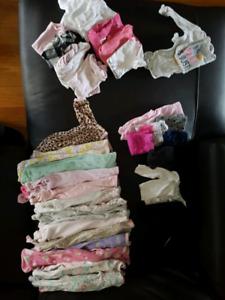 Newborn girl clothes $50 obo