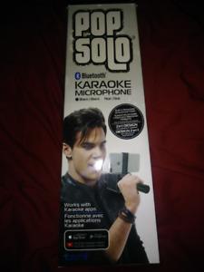New In Box Wireless Pop Solo Wireless Karaoke