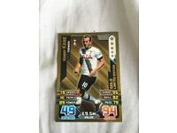 Gold limited edition Harry Kane match attax