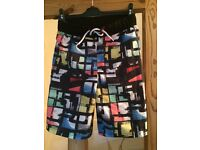 Boys swim shorts age 10-11 as new