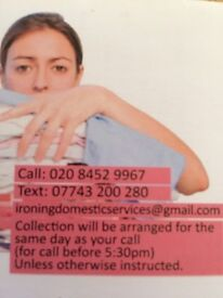 Ironing Domestic Services