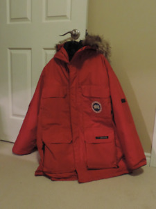 Mens XL Red Canada Goose Coat