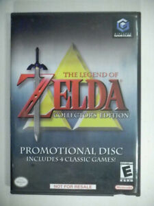 GAMECUBE: Zelda Collector's Edition, perfect