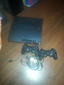 PS3 Slim / 640GIGS / 2 Controllers / X Rocker Gaming Chair