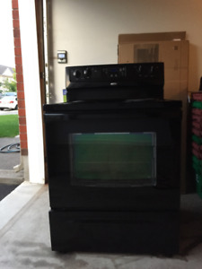 Whirlpool Cooking Range and Dishwasher - Black Color