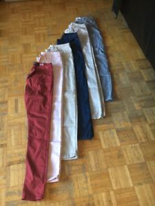 Pantalons de taille Large (Équivaut à Médium) 10$/ch.