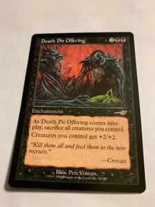 2000 DEATH PIT OFFERING #56 MagicThe Gathering Nemesis UNPLYD NM
