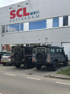 Landrover Defender 110 TD5 rebuild/import from Netherlands