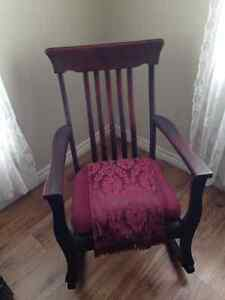 Antique Rocking Chair - PLEASE CALL #