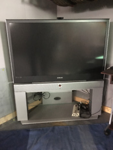 """50"""" Samsung DLP TV comes with XBox Original, Games and PSone"""